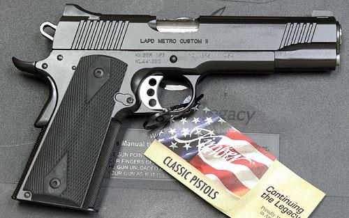 KIMBER LAPD METRO CUSTOM II