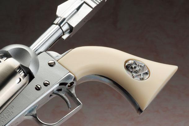 ハートフォード  LEIJI SMALL ARMS COLLECTION  大山式宇宙竜騎兵次元反動拳銃 戦士の銃 コスモドラグーンシリアルナンバー3:メーテルモデル