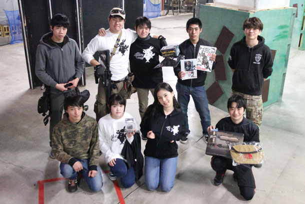 本上みらの、第1回北関東大学サバゲーに参戦