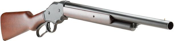 S&T「ウィンチェスターM1887 レバーアクション ガスショットガンリアルウッド」製品レビュー