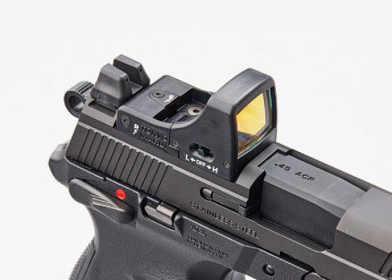 東京マルイ「FNX-45タクティカルブラック ガスブローバックガン」製品レビュー