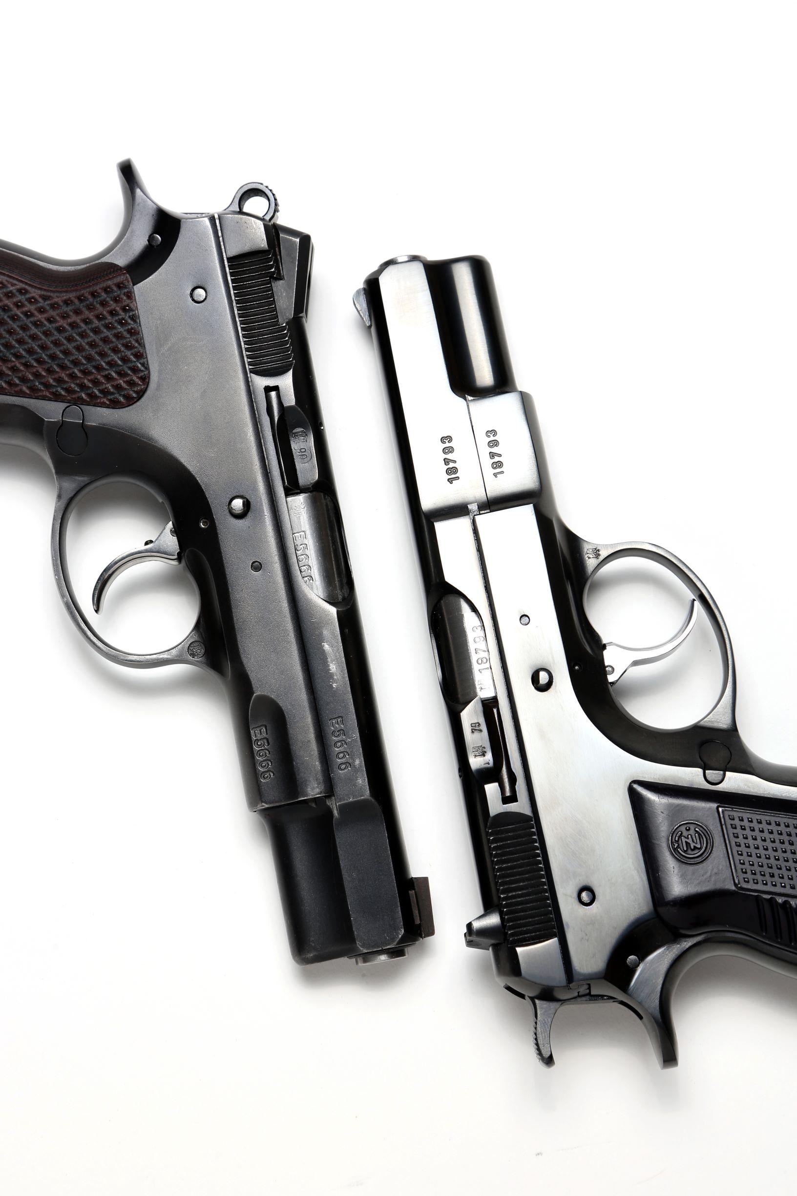 チェコスロバキア製ビンテージハンドガン「CZ75 First Model」【実銃】