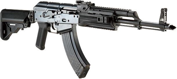 WE  AK PMCガスブローバックガン