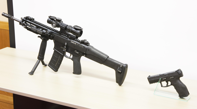 陸上自衛隊 新小銃 20式5.56mm小銃