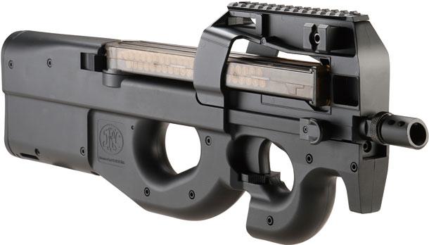 CYMA/サイバーガン「FN P90 TR電動ガン Black & DE」製品レビュー