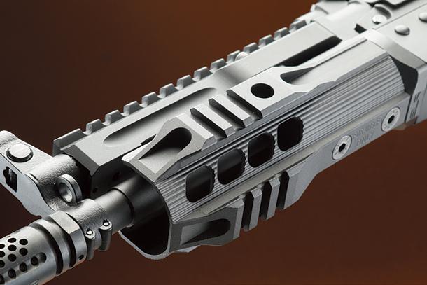 "SLR AirsoftWorks/DYTAC AK Krink SOLO 5.4"" MIDフルメタル電動ガンブラック"