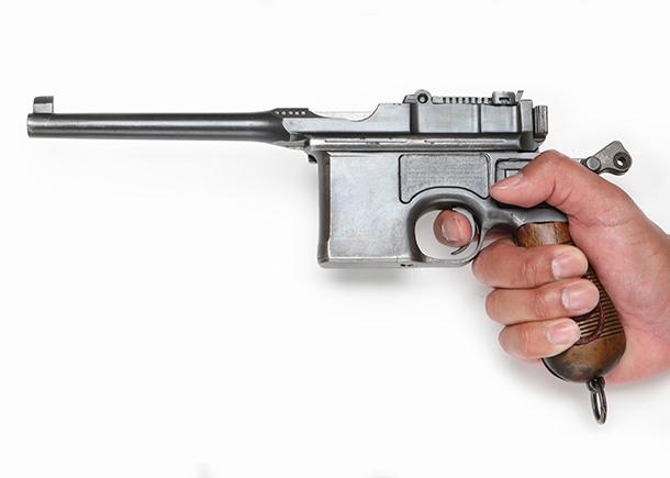 9mm口径のマウザーブルームハンドル マウザーC96 レッドナイン ガン ...