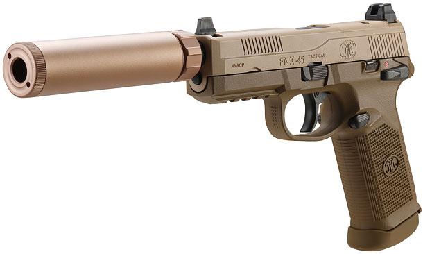 徹底比較!東京マルイ「FNX-45タクティカル」×「HK45タクティカル」