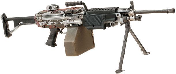 リトルアーモリー 5.56mm機関銃MINIMIを作ろう!