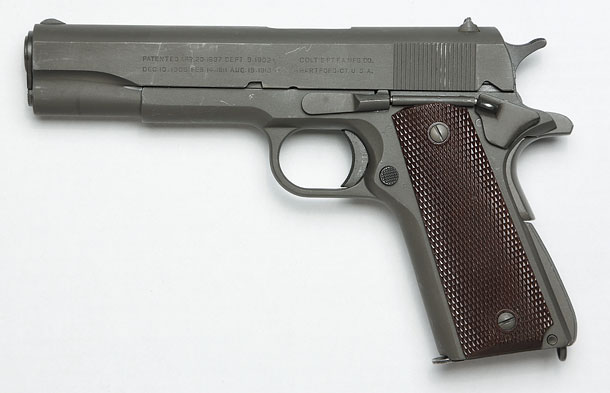 模型的アプローチでM1911A1をリアルフィニッシュ!