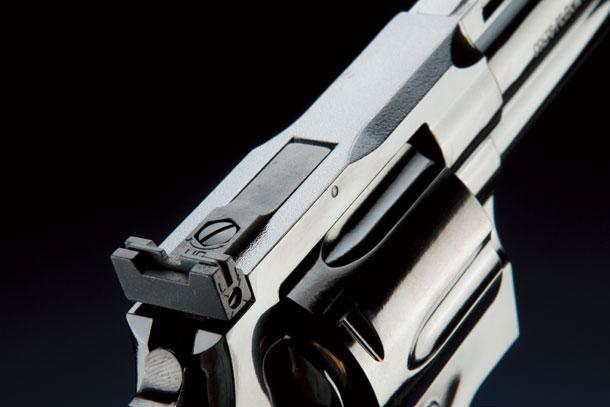 """タナカ「コルトパイソン.357マグナム4インチ """"R-model""""スチールフィニッシュ」製品レビュー"""