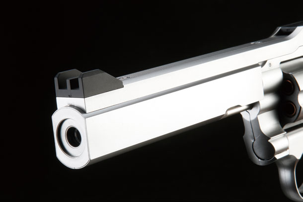 東京マルイ「BBエアーリボルバー パイソンPPCカスタム6インチ ステンレスモデル」