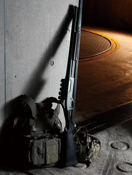 """ウイルソンコンバット/スキャッターガンテクノロジーズTR-870 """"Vang Comp Barrel""""ボーダーパトロール"""