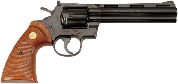 """タナカ「コルトパイソン.357マグナム6インチ """"R-model""""スチールフィニッシュ モデルガン」製品レビュー"""