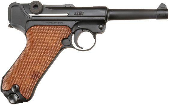 """タナカ「ルガーP08 4インチHW """"1918 Erfurt""""バージョン ブローバックガスガン」製品レビュー"""