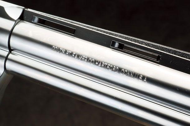 """タナカ「コルトパイソン.357マグナム6インチ """"R-model"""" ステンレスフィニッシュガスガン」製品レビュー"""