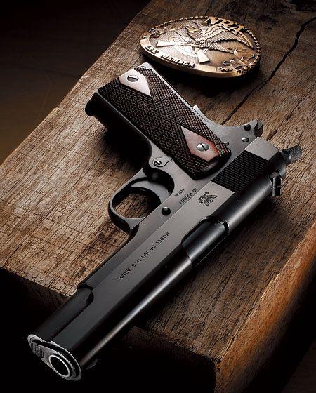 エラン「スプリングフィールドアーモリー・モデル・オブ1911U.S.アーミー N.R.A. .45ピストル」製品レビュー