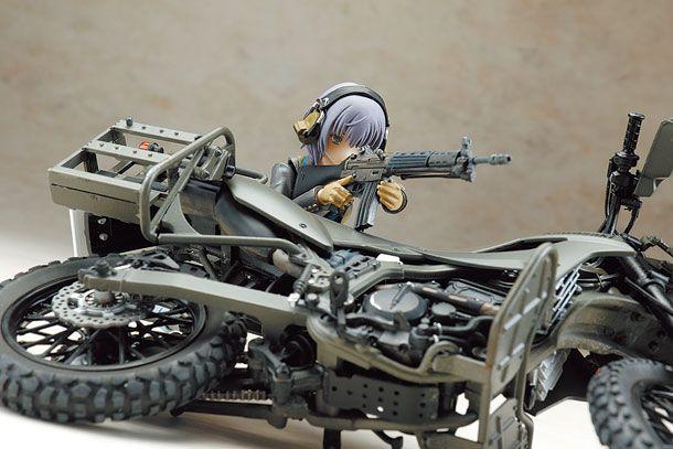 89式小銃&偵察バイク
