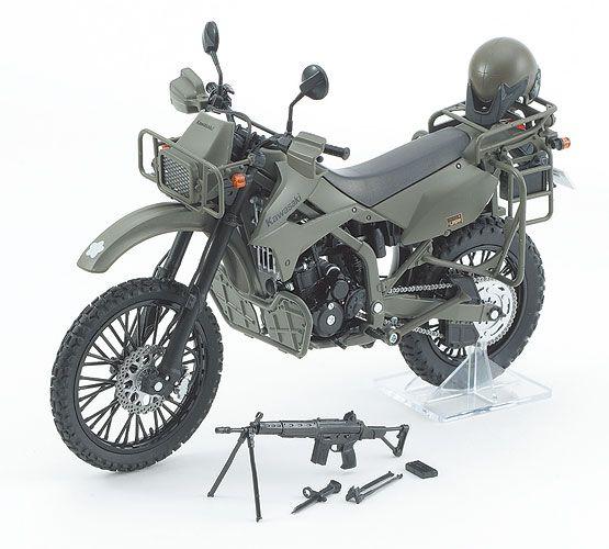 リトルアーモリー 陸上自衛隊偵察オートバイ DX版