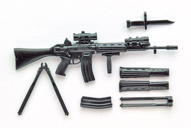 リトルアーモリー 89式小銃(閉所戦仕様)豊崎恵那ミッションパック