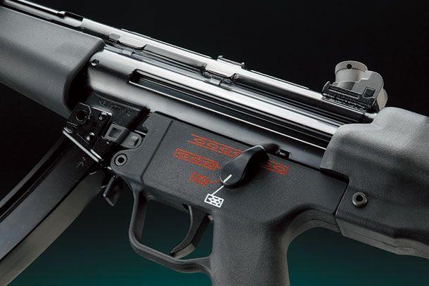 WE  MP5A4 ガスブローバックガン