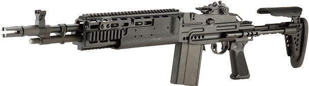 WE  M14 EBR Mod.0 ガスブローバックBK(刻印有)