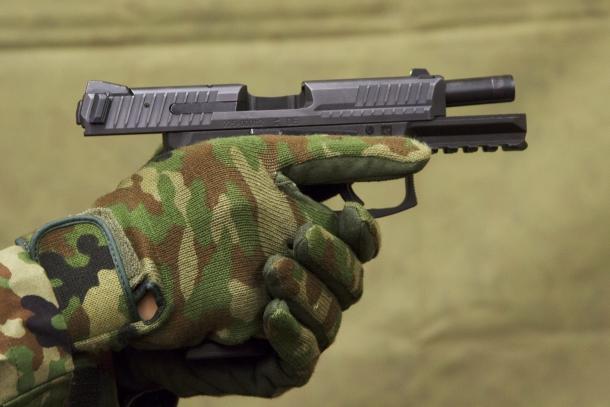 陸上自衛隊 新拳銃 9mm拳銃 SFP9 Maritime (マリティマ)