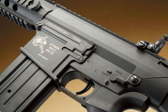 S&T/AVENGER「KAC SR-25&SR-25K スポーツラインG2電動ガンBK」製品レビュー