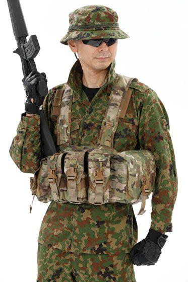 陸上自衛隊 チェストリグ スタイリング