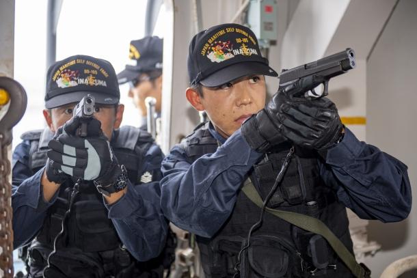 海上自衛隊長期訓練航海