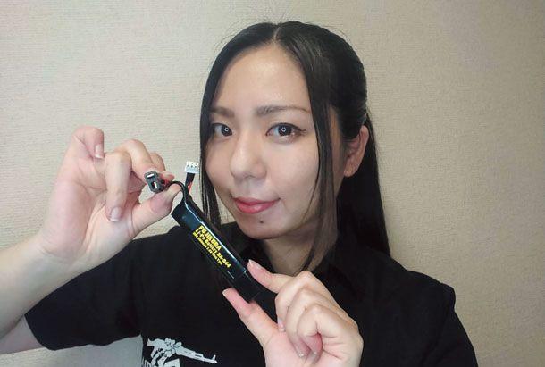 バッテリーの「Tコネクター」化に挑戦!