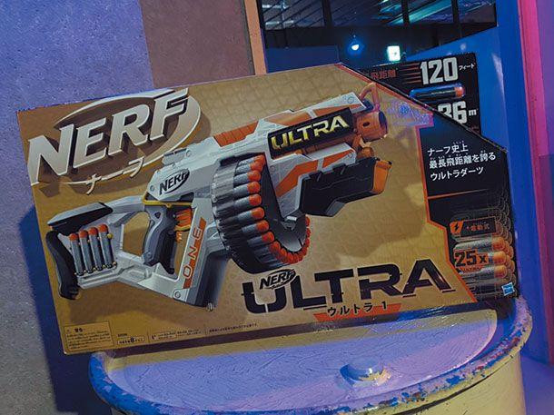 見た目も楽しい! Nerf ULTRA ONE!!