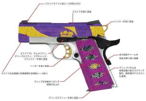 フィクションの銃を作る「V10和カスタム 紅紫・前編」