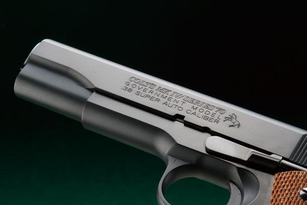 エラン「コルトMkⅣシリーズ70 .38スーパーモデル」製品レビュー