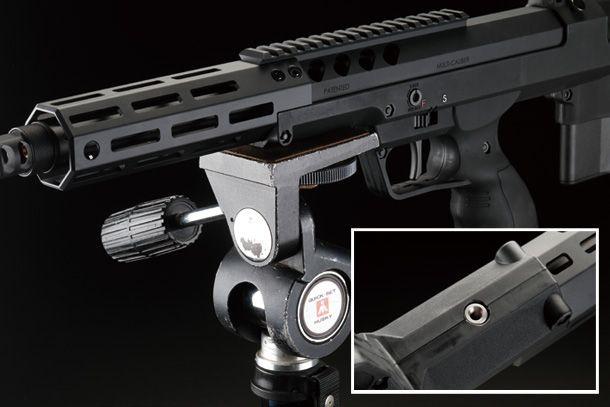 SILVERBACK AIRSOFT「デザートテックSRS-A2 エアコッキングガンシリーズ」製品レビュー