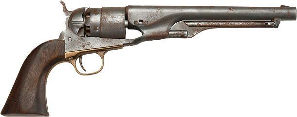 ハートフォード コルトM1860アーミー エイジドエキストリーム