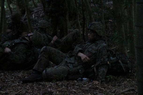 陸上自衛隊 レンジャー課程最終想定