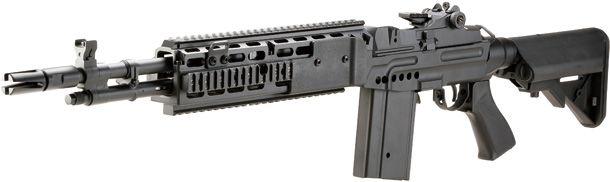 CYMA「M14 EBR Mod.1 電動ガンブラック」製品レビュー