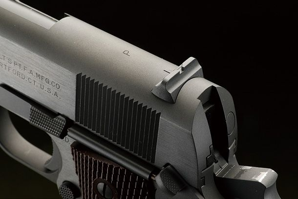 WA「コルトM1911A1パールハーバーブラストパーカー ガスブローバックガン」製品レビュー