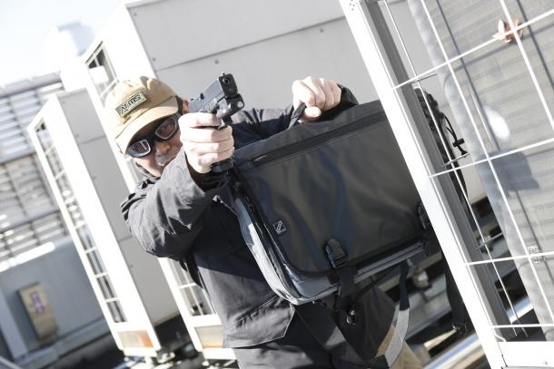 COVERT TACTICAL MESSENGER BAG