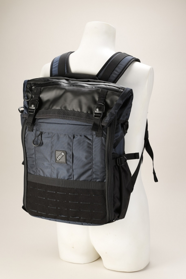 ROLL TOP SQUARE BAG