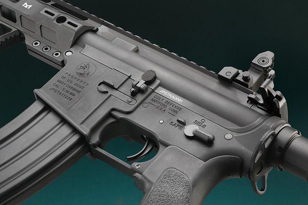 S&T「M4 SRM 12'/FORTIS REV 12'/M4 LR-SD 13.5' フルメタルG3電動ガンBK」製品レビュー