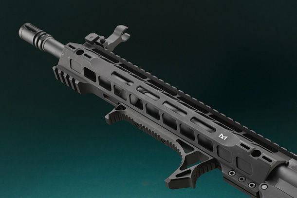 M4 SRM 12' フルメタルG3電動ガンBK