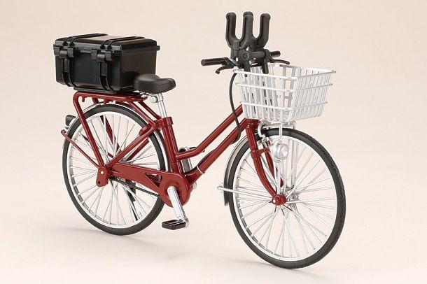 リトルアーモリー「通学自転車(指定防衛校用)」をディテールアップ