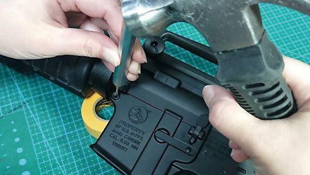 M4を分解してメカボックスを取り出そう! ~かすみん技術工房~