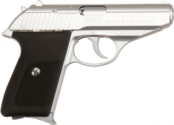 KSC P230SL ヘビーウエイトシルバー ガスブローバックガン