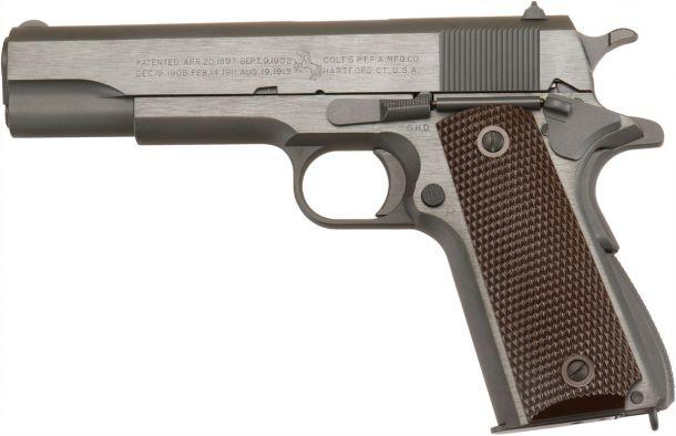 ウエスタンアームズ コルトM1911A1ミリタリーモデル ガスブローバックガン