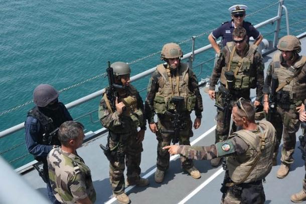 海上自衛隊 特別警備隊 SBU