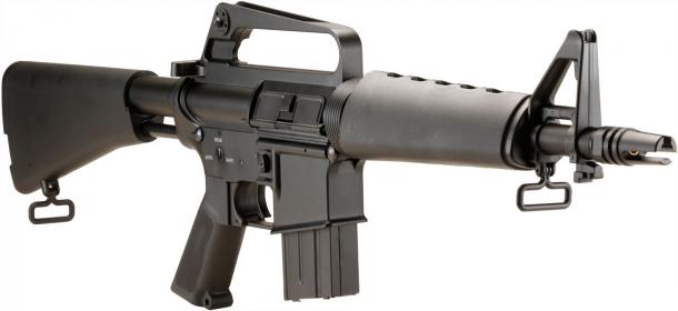 DOUBLE BELL M607タイプ CAR-15 SMG電動ガン